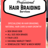 Happy Hair Braiding Services