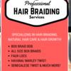Happy Hair Braiding Services